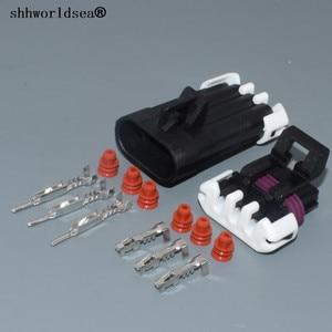 Image 1 - Shhworldsea 3pin 1.5mm otomatik elektrik kablosu fişi Hız krank mili Mühürlü 150 Üç Yollu Konnektörler 12129615 12110293