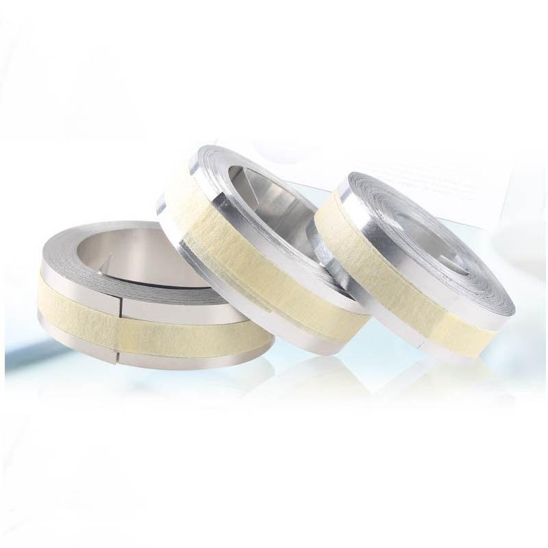10pks Embossing Staal Non-lijm Voor 3d 32500 Metalen Tapes 12mm * 6.4 M Embossing Label Printers Voor Dymo M1011