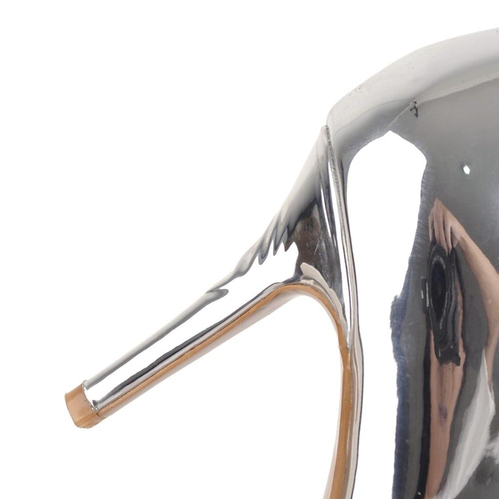 Bottes Mince Talons Bout Le De Silver Chaussures Hauts Taille Pointu Nouvelles Initiale Mode Argent Genou Haute 3 Nous Femmes Femme Ef1531 Sur L'intention 16 7O4zvqOn