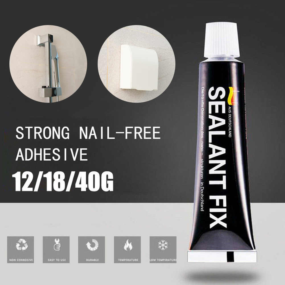 New Hot 4/6/9/12/18g Glass Glue Strong Waterproof Sealant Fix Glue Quick Drying Polymer Metal Adhesive