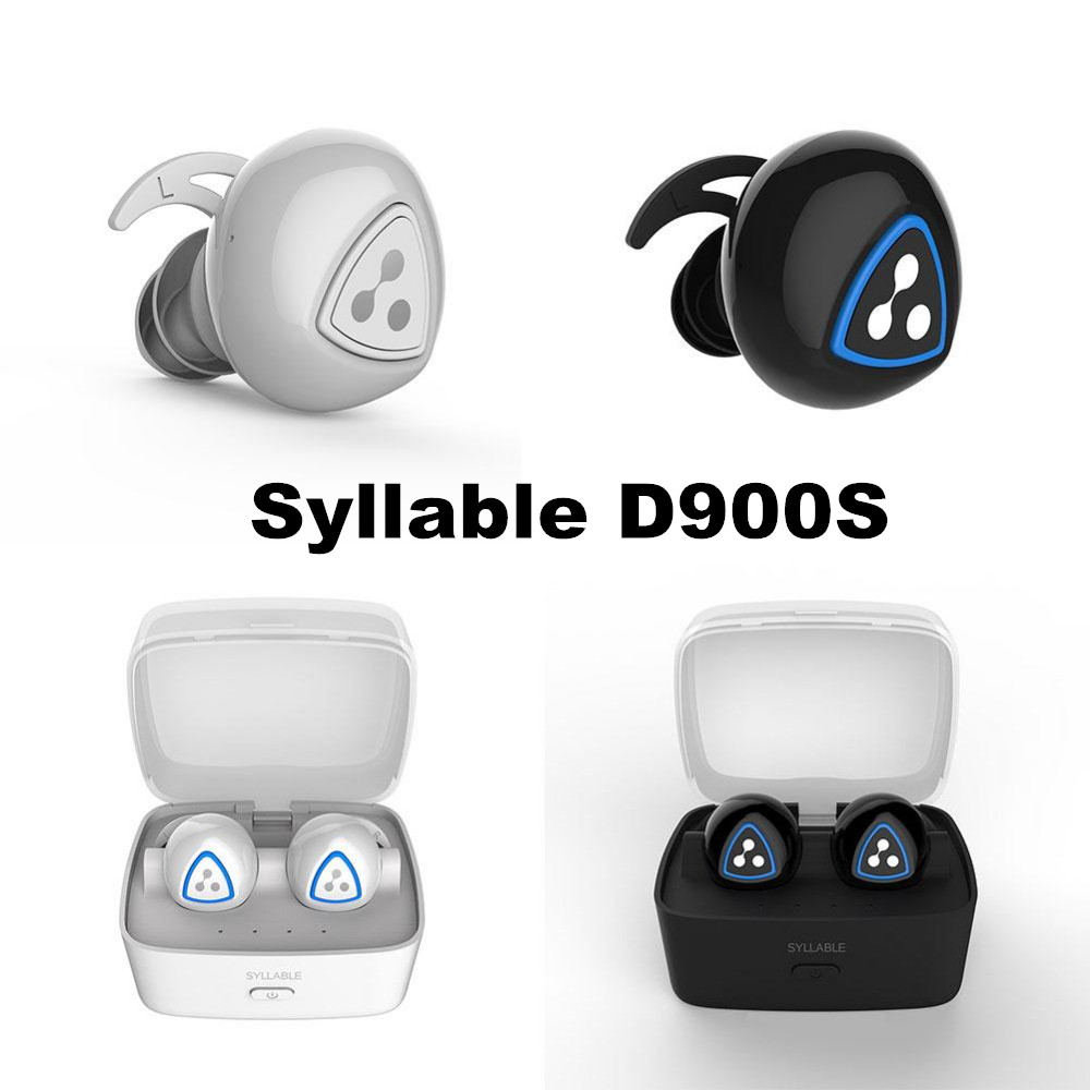 DHL free ship Syllable D90S0 Wireless Earphones Stereo Sport Bluetooth Headset Noise Cancelling Earbuds Mini Earphone