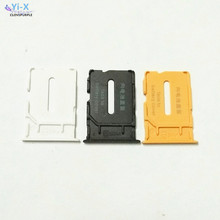 1PCS White/Black/Yellow SIM Card Tray Adapter Slot Holder Cellphone Parts for Oneplus One 1+ A0001