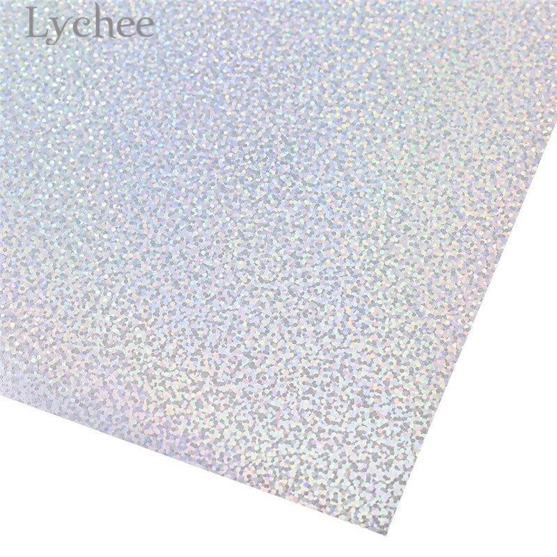 Lychee 30x25 см лазерный термопресс передачи винил блеск ПВХ декоративные принадлежности для футболки одежда