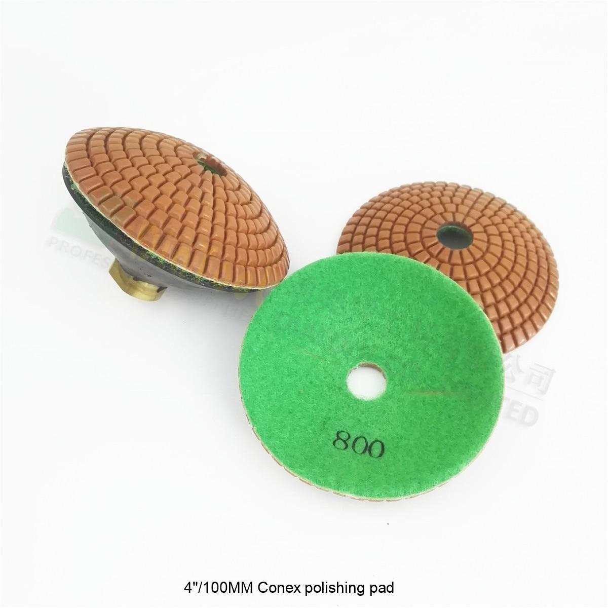 "8 pcs 3/""  Convex diamond polishing pad//pads set"
