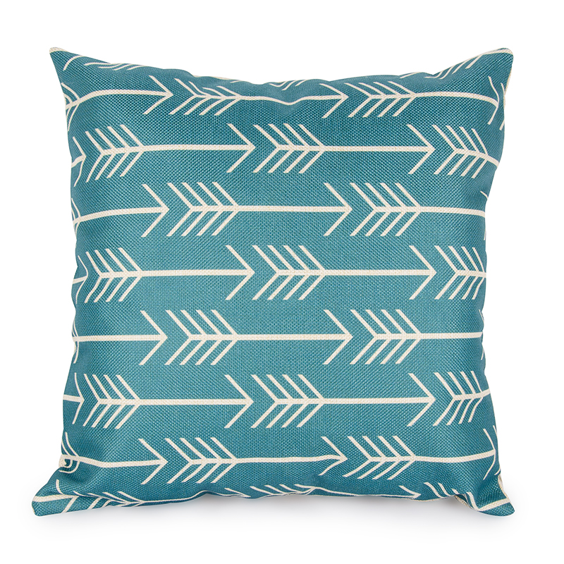 Quatrefoil Teal Turquoise Throw Pillow Case 45x45cm Decorative Cushion Covers Geometric Pillows Sofa Linen Scandinavian In Cover From Home