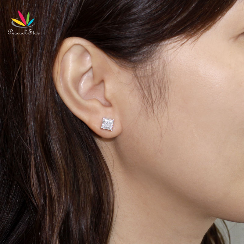 carat diamond stud on and affordable gold beautiful white earrings