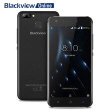 Купить онлайн Blackview A7 Pro 2 ГБ Оперативная память 16 ГБ Встроенная память 8MP двойной камеры заднего 4 г смартфон 5,0 «HD MTK6737 4 ядра Android 7,0 2800 мАч отпечатков пальцев