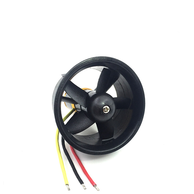 RC Jet 64mm EDF 5-blade With Brushless 2822 Motor Assembly 2839 4300KV For Radio Control Hobby Electric Ducted Fan