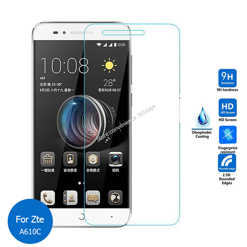 For <font><b>Zte</b></font> <font><b>Blade</b></font> A610C Tempered Glass Screen Protector 2.5 9h Safety Protective Film on <font><b>A</b></font> <font><b>610C</b></font> A610 C 610 image