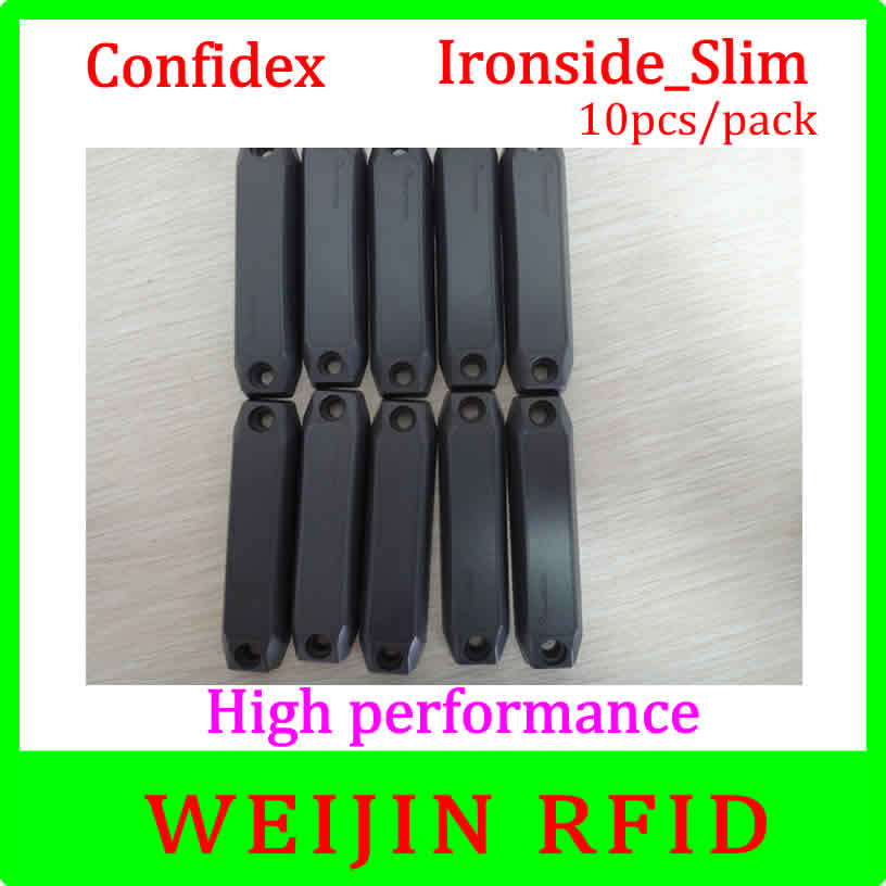 ФОТО Confidex Ironside slim 10pcs per pack UHF RFID anti metal tag 860-940MHZ  for global asset tracking applications free shipping