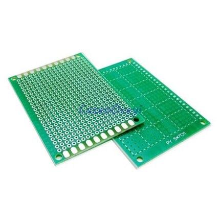 5pcs/lot 5x7cm 5*7 Double Side Prototype PCB Diy Universal Printed Circuit Board