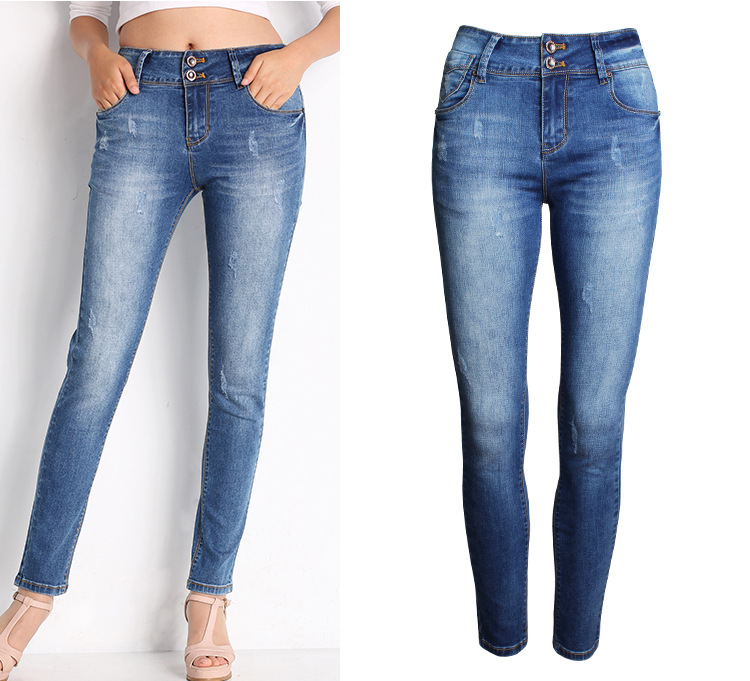 fc1a622e19c 028 hot sale women jeans autumn winter fashion ladies jeans pants street  casual wear fitting jeans-in Jeans from Women s Clothing on Aliexpress.com  ...