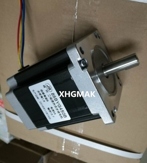 цена на 10pcs/lot nema 34 stepper motor 12.7mm shaft 86BYGH450B stepper motor/engraving machine steppering motor for CNC machine