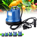 Submersible Water Pump Fish Tank Circulating Aquarium 15/20/40/55/80W 220V Fountain Hydroponic Safety Energy Save Filter