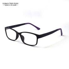 Fashion Ultralight Glasses Frame Women Hand made Violet and Purple Patchwork Optical Frame Eyeglasses Eyewear SG002