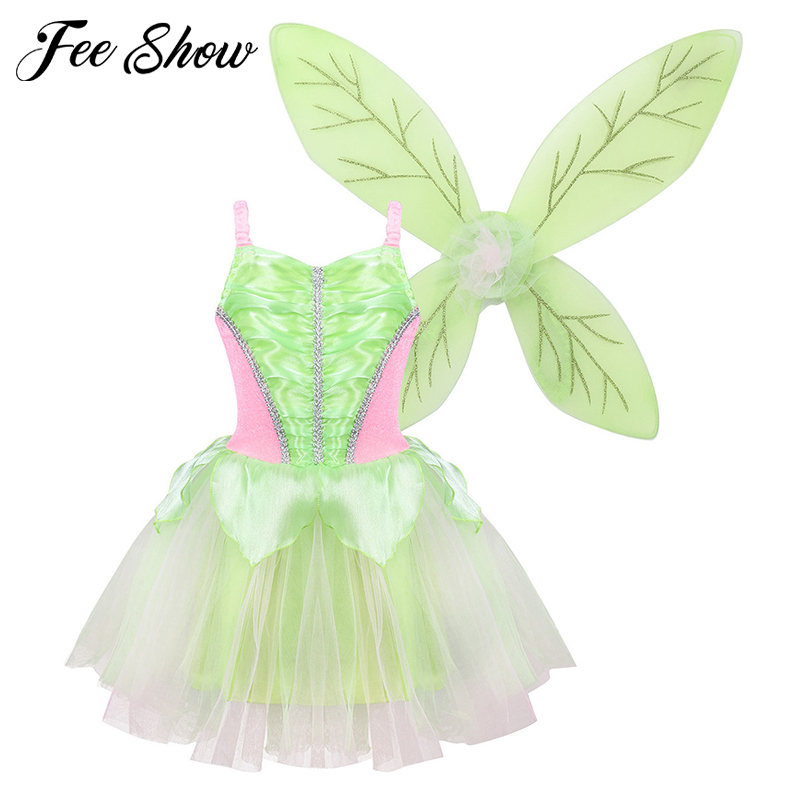 Fairy Princess Tutu Dress Halloween Costume Dress up