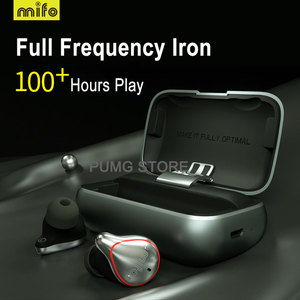 Image 2 - Mifo O5 Bluetooth TWS אלחוטי אוזניות IPX7 Bluetooth אוזניות ספורט סטריאו קול handfree אוזניות עם טעינת תיבת עבור טלפון