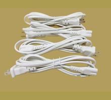 10 pc Alta Qualidade 1.5 M EUA Plug Branco Cor 8 Tipo de conector do Cabo AC Cabos de Alimentação EUA PLUG Grátis grátis