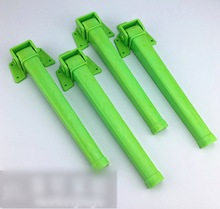4Pieces/Lot L:28CM Plastic Folding Table Foot Notebook Computer Supporting Tripod Table Legs Square Foot