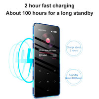 MP4 player Metal touch screen Bulit-in 16GB Consumer Electronics