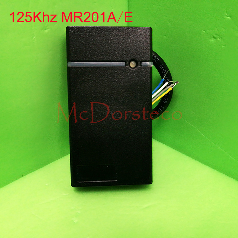 Mini size 125khz rfid reader Door Access Control Card Reader IP65 Waterproof wiegand 26/34 slave Proximity EM Card Reader original access control card reader without keypad smart card reader 125khz rfid card reader door access reader manufacture