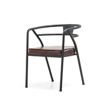 Hot Metal Loft Chair Armrest dining chairs Village of retro furniture Vintage metal bar chair Bar furniture Living room chair