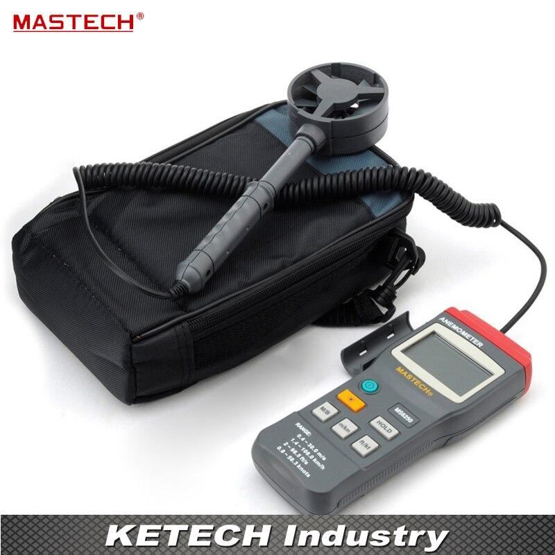 MASTECH MS6250 Digital Anemometer Wind Speed Tester