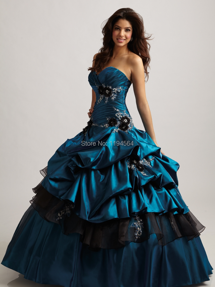 Compare Prices on Turquoise Quinceanera- Online Shopping/Buy Low ...