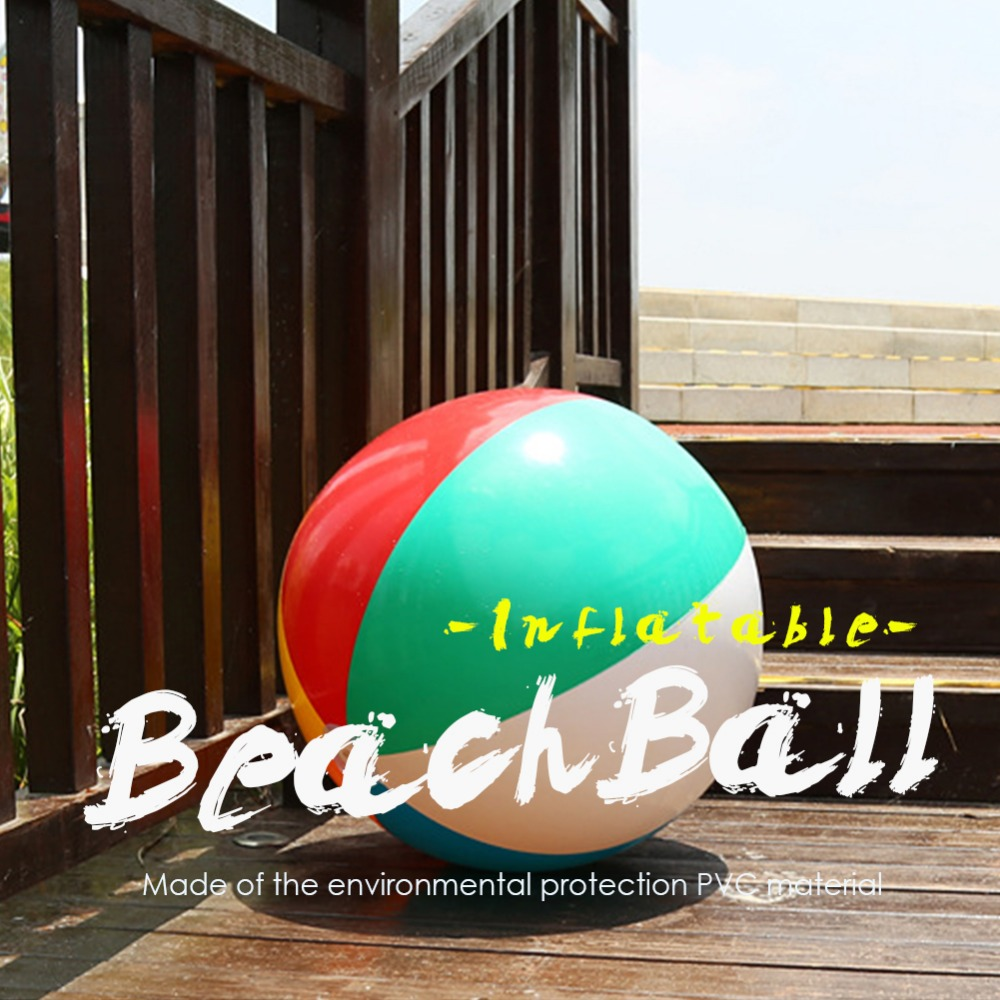 1Pcs Hot Sale Baby Kids Beach Pool Play Ball Inflatable Children Rubber Educational Soft ...