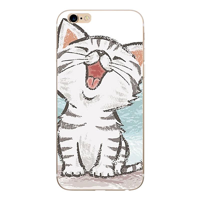 Soft TPU Silicone Case For iPhone 7 6 6s 6 7Plus Funda Coque Cases (3)