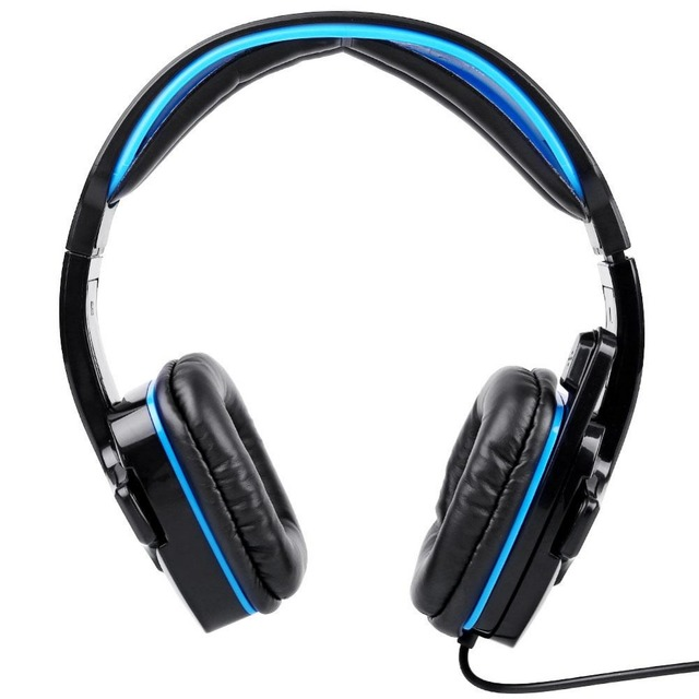 Marca 7.1 Surround Sound Gaming Headset Auriculares con Micrófono de Control Remoto USB Stereo Bass Auriculares para Juegos de PC