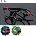 RTBOFY Child Glasses frame kids frames eyewear Flexible TR rubber optical lense No Screw safe Light JR-8815