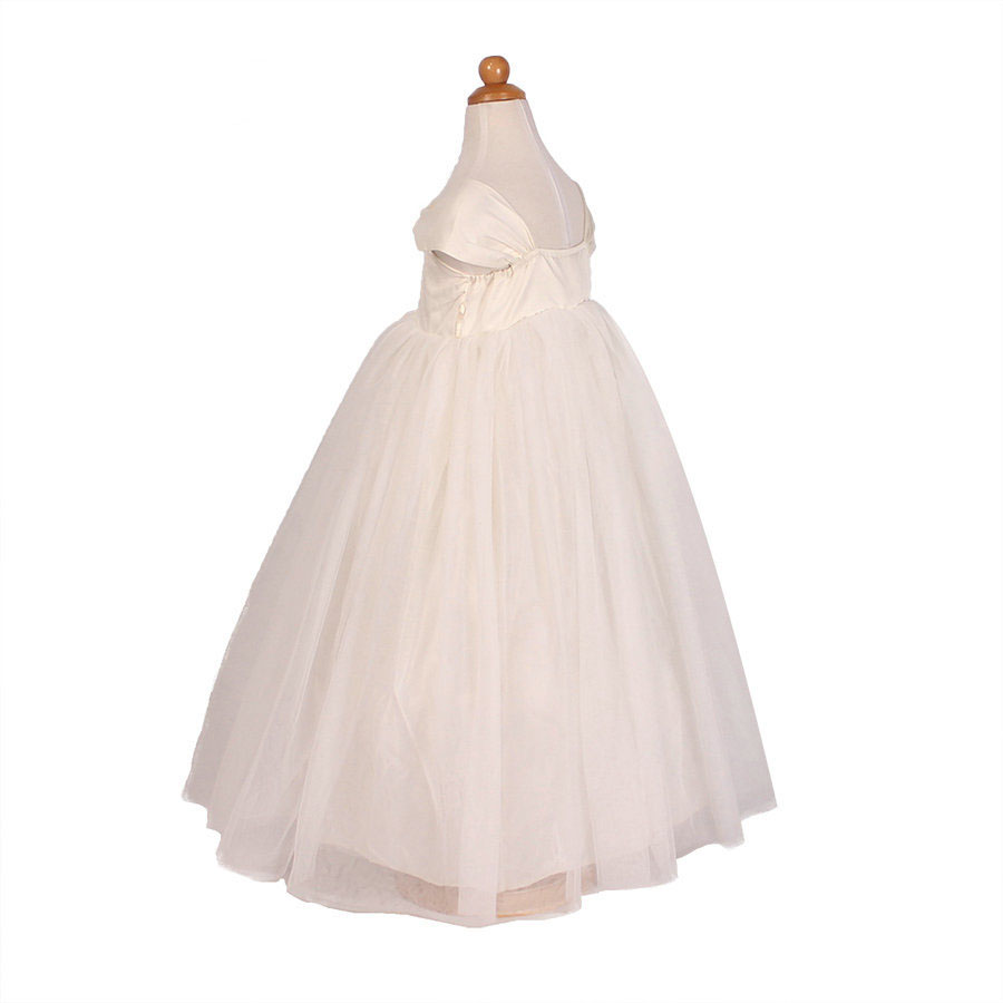 bf77be1be4df2 US $28.0 |Aliexpress.com : Buy kids frock designs white infant baptism  vintage flower girl dresses from Reliable designer girls dress suppliers on  My ...