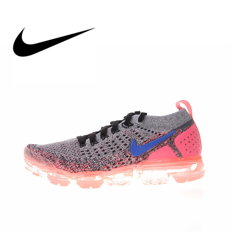best loved 4c676 20924 US $51.85 67% OFF|Original Authentic NIKE AIR VAPORMAX FLYKNIT 2 Womens  Running Shoes Sneakers Sport Outdoor Athletic Footwear 2019 New 942843  104-in ...