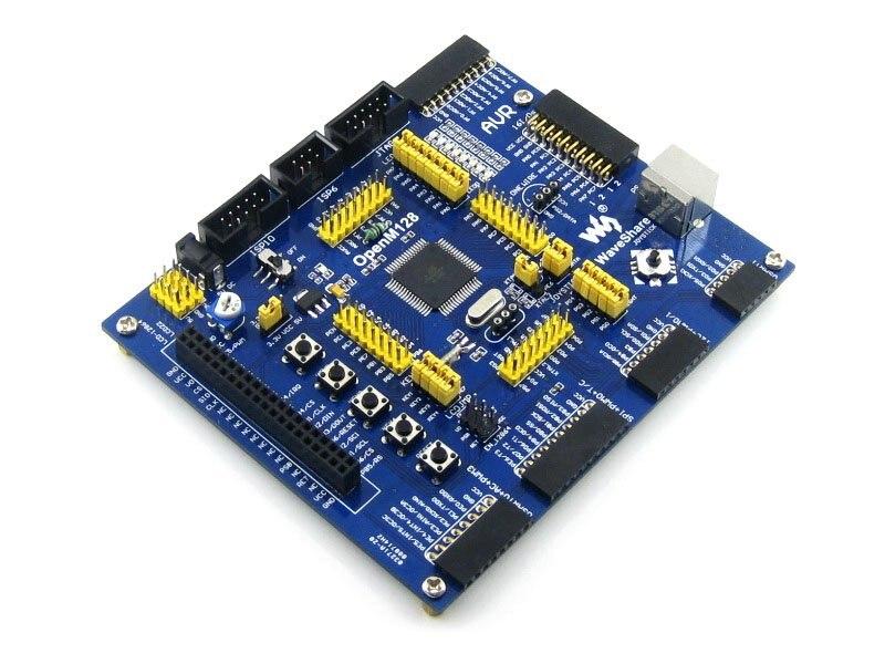 ФОТО Modules ATMEL AVR Development Board ATmega128A-AU 8-bit RISC AVR ATmega128 Development Board Kit = Waveshare OpenM128 Standard