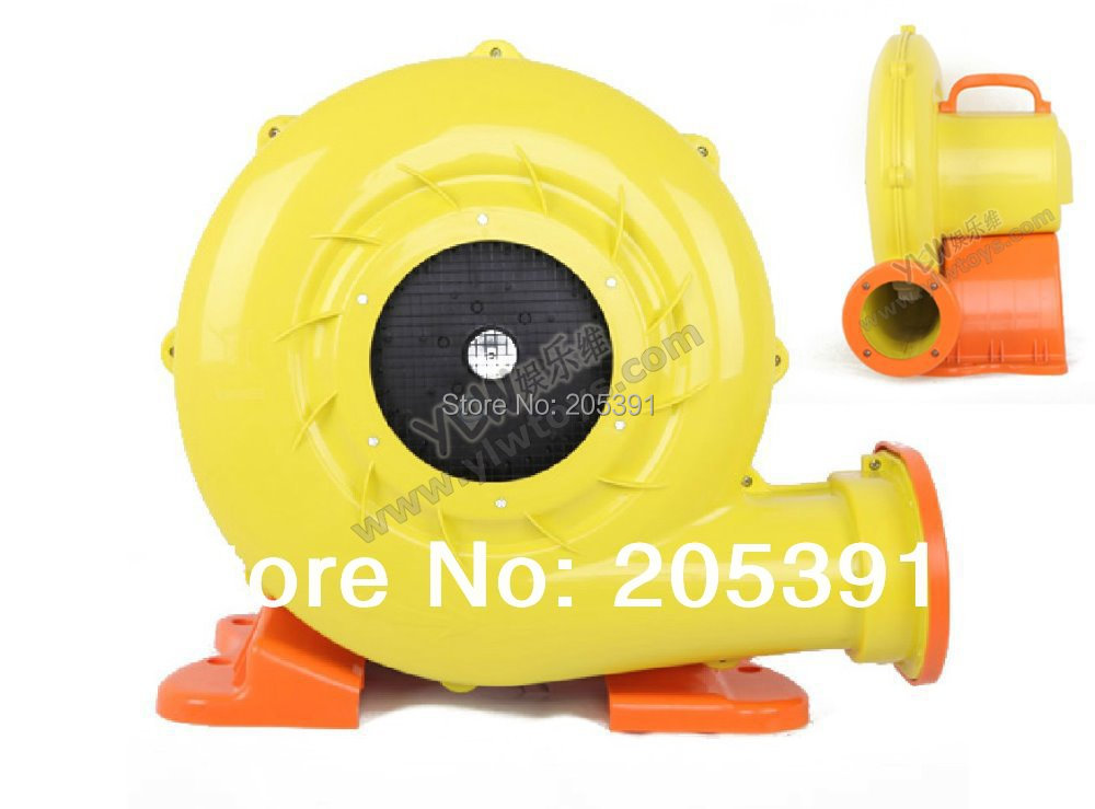CE 750W 220V air blowers medium pressure electric blowers fan for inflatable commercial font b bouncers