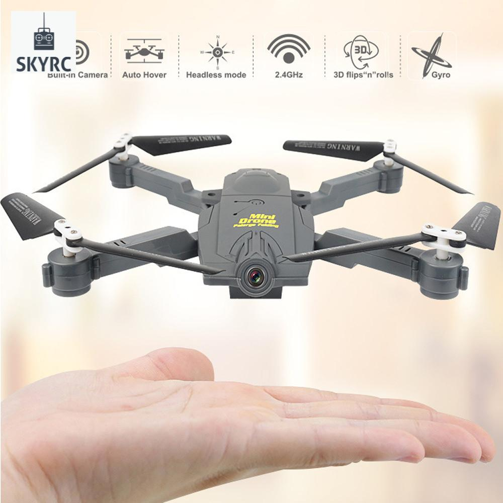 The new2018 Portable Mini 2.4G 6Axis HD Image WIFI FPV RC Quadcopter Drone Selfie Foldable Helicopter Aircraft Drop Shipping