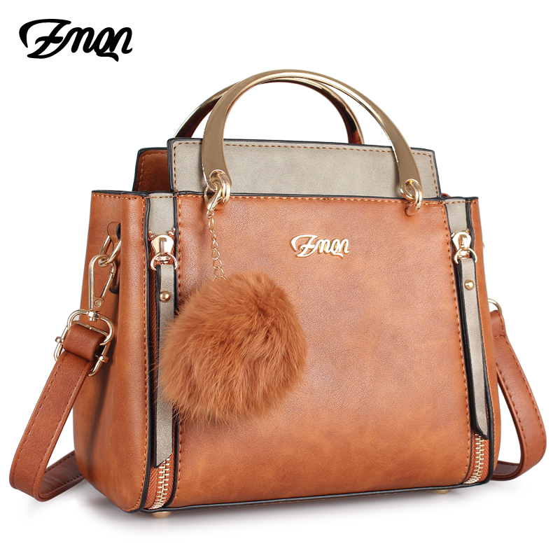 ZMQN Women Bags For 2018 Vintage Small Shoulder Handbags Ladies Crossbody Bags For Women PU Leather Famous Brands Panelled C226