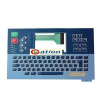 Новая мембранная клавиатура Linx 6800 linx6800 черно белая клавиатура с экраном