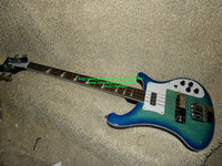 Blue 4 strings Bass 4003 Electric Bass guitars China guitar New Arrival wholesale from China free shipping