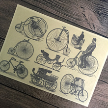bicicleta pintar RETRO VINTAGE