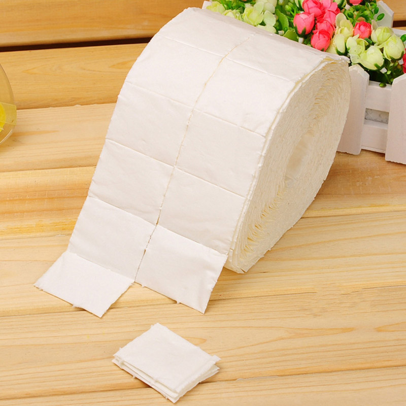 300/500pcs Nail Art Nails Tools UV Gel Polish Remover Towel Wipe Nail Art Tips Manicure Clean Wipes Cotton Lint Pads Paper