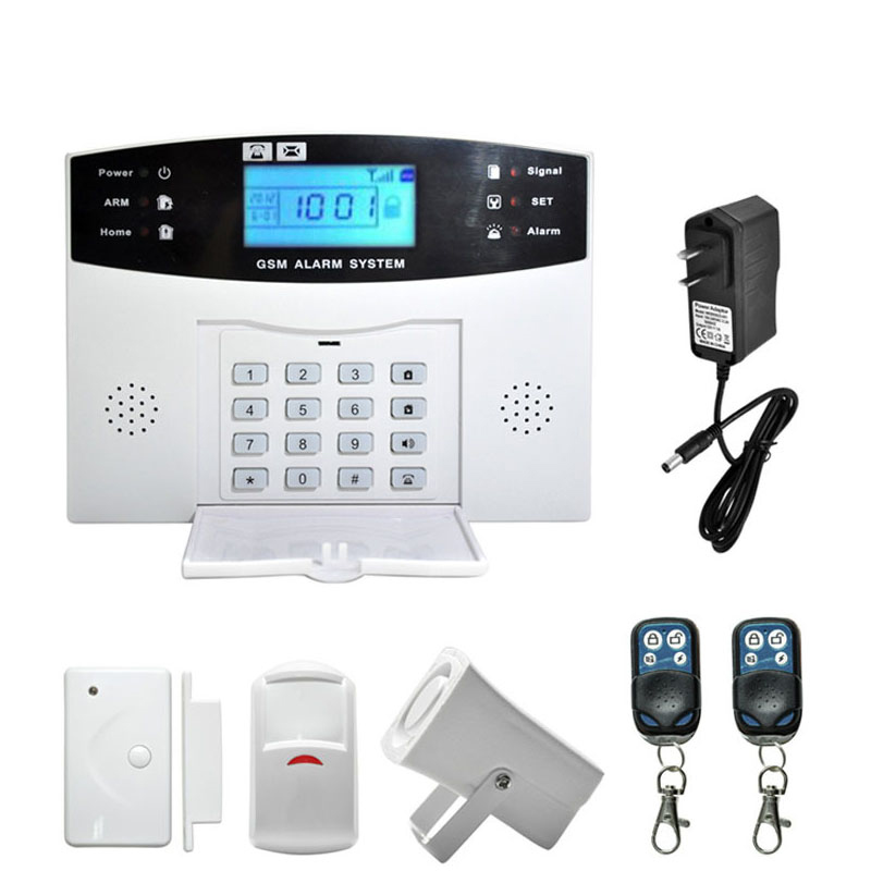 ФОТО Wireless Wired English Russian French  Spanish Voice  Home Security GSM Alarm