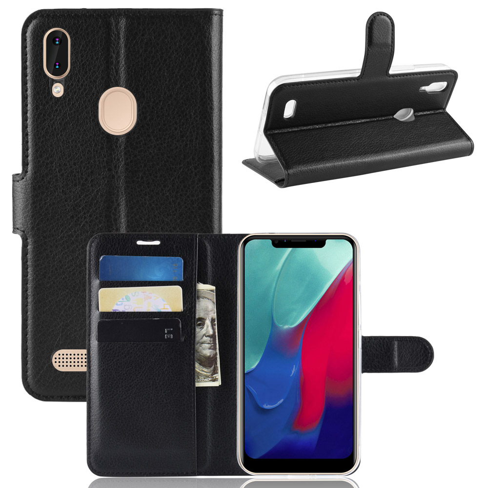 Book Style PU Leather Case Cover For LEAGOO M11 Flip Wallet Phone Bags Cases With Stand For LEAGOO M11