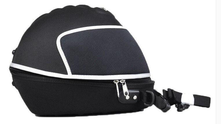 Профессиональная Байкерская натуральная мотоциклетная водонепроницаемая сумка на половину шлема, сумка для оборудования, многофункциона...