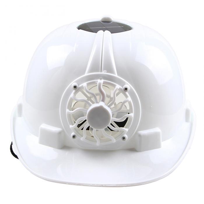 O capacete de segurança movido a energia