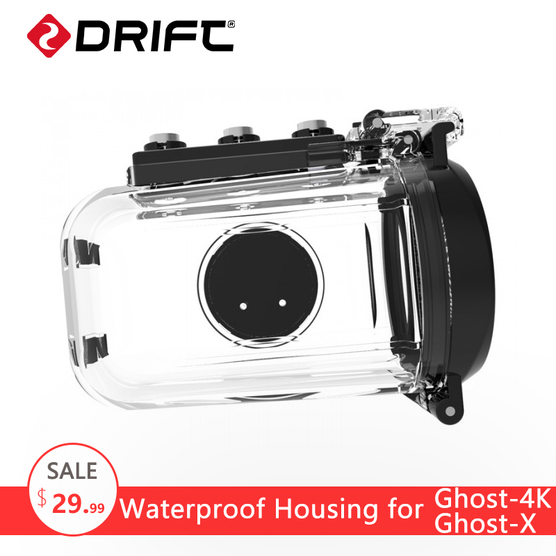 все цены на Original Drift Action Sports Camera 40M Waterproof Housings Case for Ghost 4K and Ghost X онлайн
