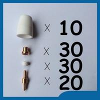 PJ PT 31 LG 40 Plasma Cutter Cutting Torch Consumables Extended Kit 90PK