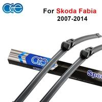QEEPEI Car Wiper Blade For Skoda Fabia II 21 21 Rubber Windscreen Blades Promotions Car Accessories