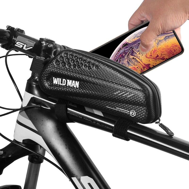 Bicycle waterproof front beam bag riding bag mountain bike equipment accessories